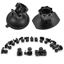 Suction Cup Mount Holder Dash Cam Mount 3M Double-Sided Adhe