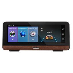 7.84in Touch Screen Dual Lens Car DVR 4G WiFi Video Recorder