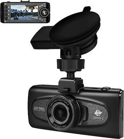 Uber Dual Dash Cam, Z-Edge F1 2.7' LCD Front and Inside Car