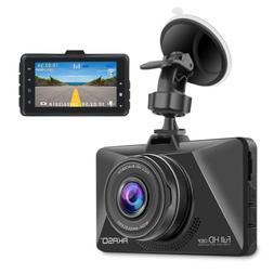 AKASO Dash Cam, Car Dashboard Camera Recorder with 1080P Fu