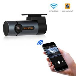 Upgraded AUTO-VOX WiFi Dash Cam D6 Pro FHD 1080P Dashboard C
