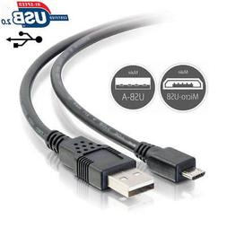 USB Power Charging Data Cable Cord for KDLINKS X1 Car Dash C