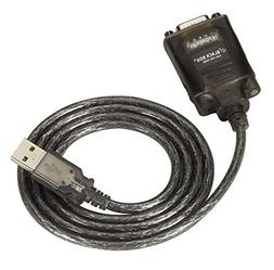 Black Box USB Solo , DB9  with Cable, 3.7 ft.