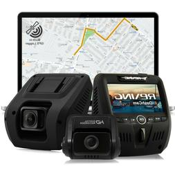 Rexing V1LG Car Dash Cam Dual FHD 1080p 170° Wide Angle wit