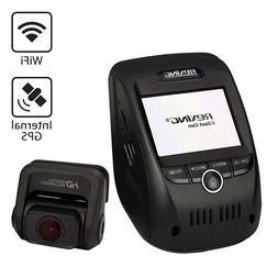 Rexing V1P 1080p Dual Channel Dashboard Camera Front Rear