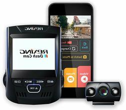 """Rexing V1P 2.4"""" Dash Cam LCD FHD 1080p 170 Degree Wide Angle"""