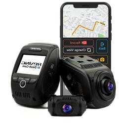 Rexing V1P Pro Car Dash Cam Dual 1080p Full HD Front and Rea