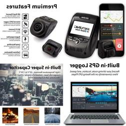 V1P Pro Dual 1080P Full Hd Front Rear 170 Degree Wide Angle