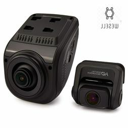 Rexing V1P Rear and Front Dash Cam Recorder Night Vision Wif