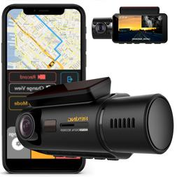 Rexing V3 Dual Camera Front and Inside Cabin Infrared Night
