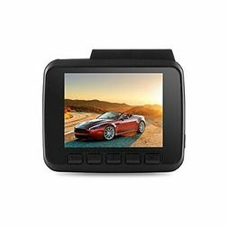 """Vehicle DVR Dash Cam 2.4"""" with Built-in GPS Dual Camera Fu"""