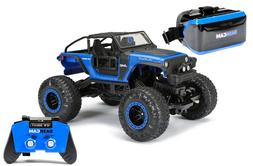 VR DASH CAM ROCK CRAWLER - RC JEEP RECHARGEABLE