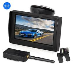 "AUTO-VOX W1 Wireless Backup Camera Kit 4.3"" LCD Monitor+ IP"