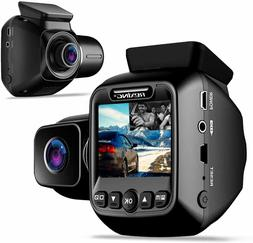 """Rexing W202 Mini 2"""" LCD Dual Camera Front and Inside Cabin"""