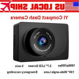 "HOT Original Xiaomi Yi 2.7"" LCD HD 1080P WIFI Car Dash Camer"