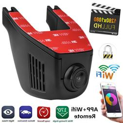 WiFi Dash Camera 1080P Full HD Car Recorder Camera Car DVR C