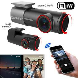 4K Ultra 2160P WiFi Dash Cam Car Camera DVRs with GPS,Night