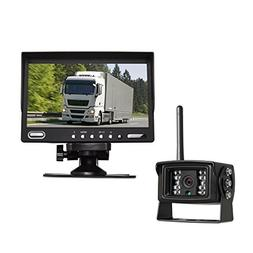 "Auto-Vox Digital Wireless Backup Camera System with 7"" HD Re"