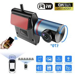 Wireless Hidden HD WIFI Car Dash Cam DVR Camera 1080P HD G-S
