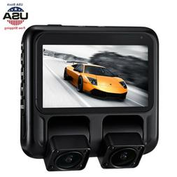 X100 Dash Cam Dual 1920X1080P Night Vision DVR Car Camera GP