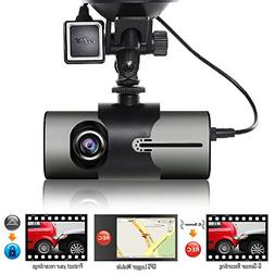 "Indigi XR300 Dash Cam 2.7"" LCD DVR + GPS Module & Google Map"