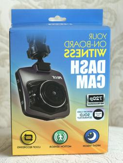 Pilot-Your On Board Witness Dash Cam 720p New! Night Vision,