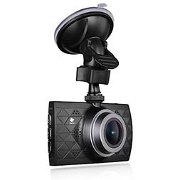 Z-EDGE Z3 Upgraded Version Dash Cam, 1440P Quad HD Car Dashb